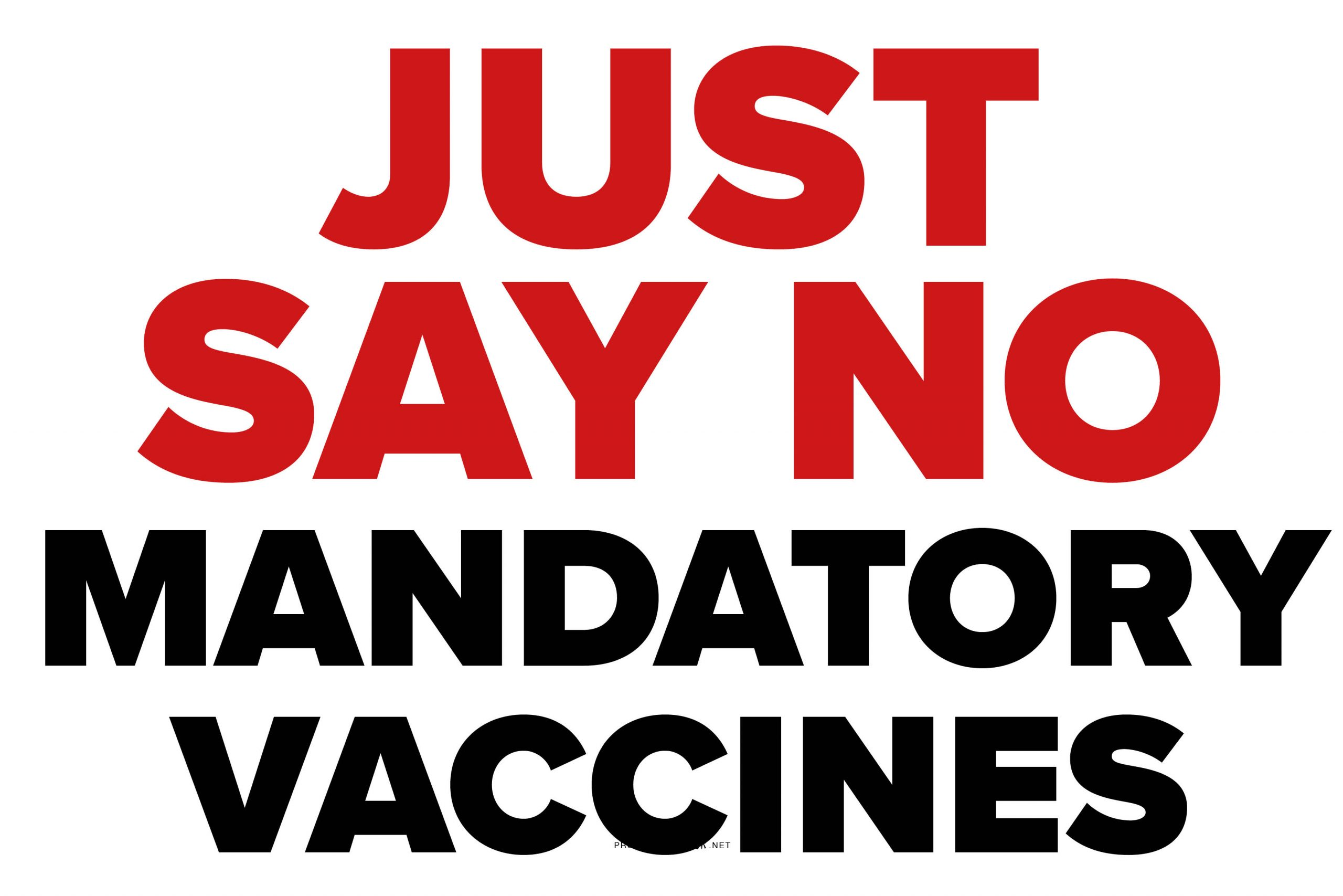 No Mandatory Vaccines