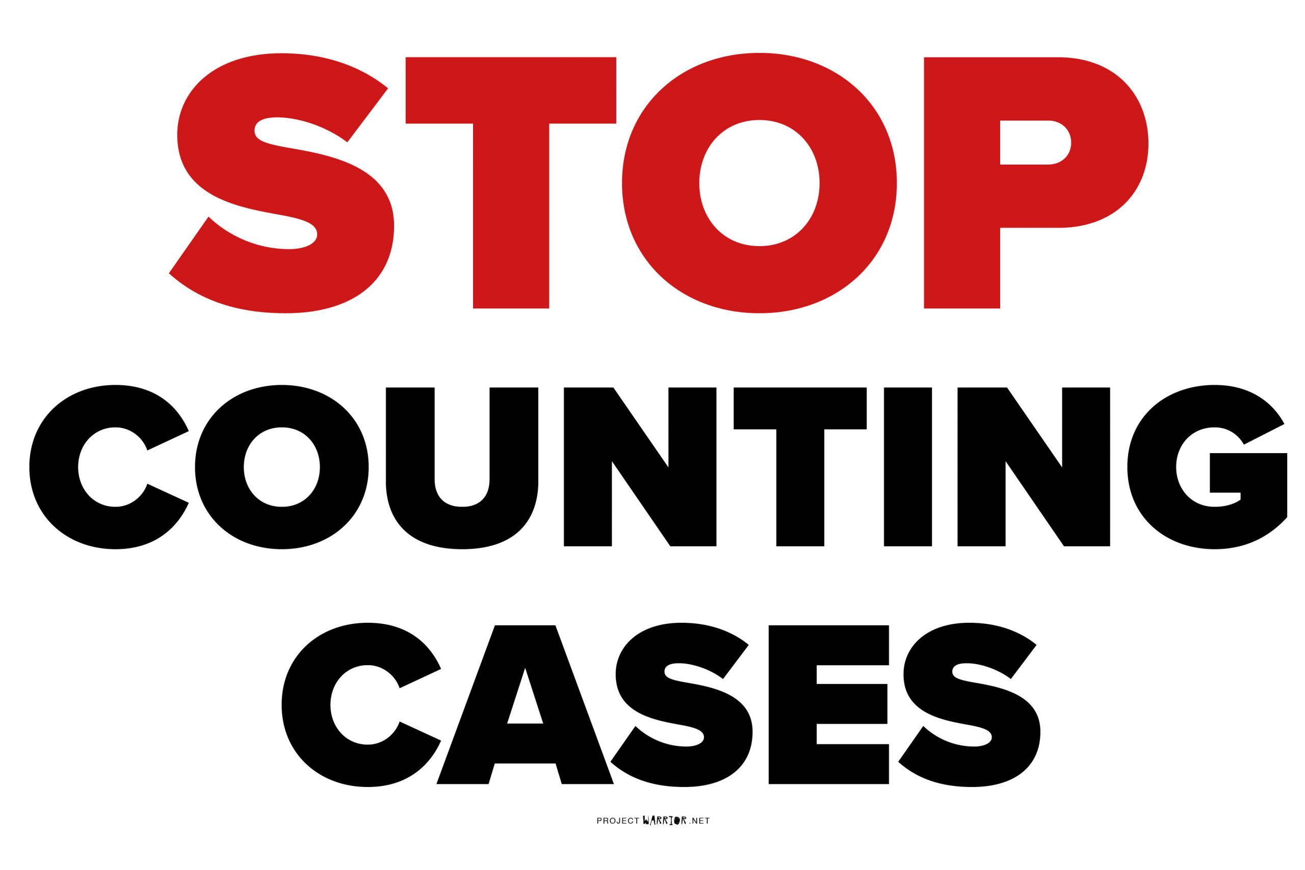 Stop Counting Cases
