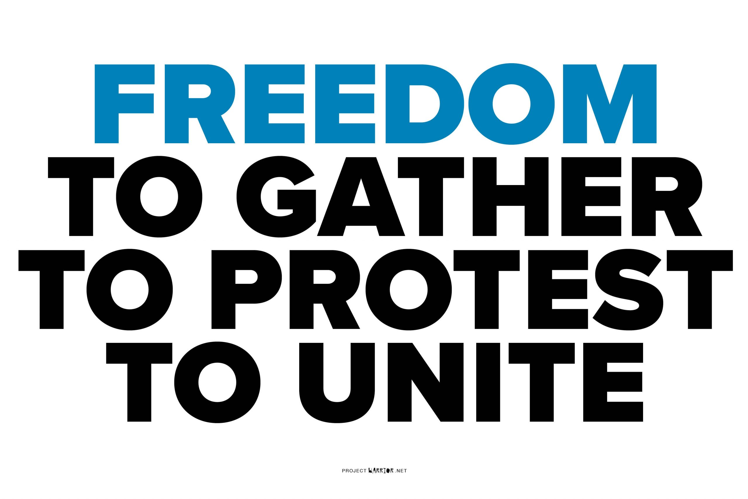 Freedom to Gather